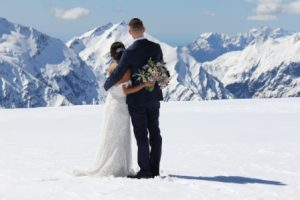 Isobel Glacier wedding