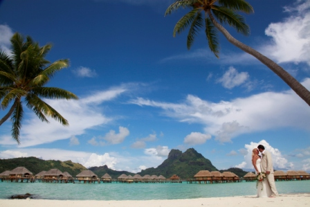 Bora Bora wedding photos