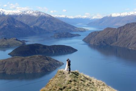 Coromandel Peak wedding photography videography