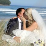 Whangamata beach wedding