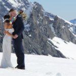 Glacier wedding New Zealand