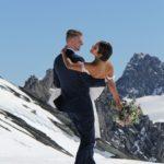 NZ eloping Isobel Glacier