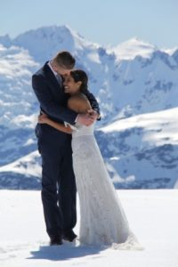 Isobel Glacier wedding